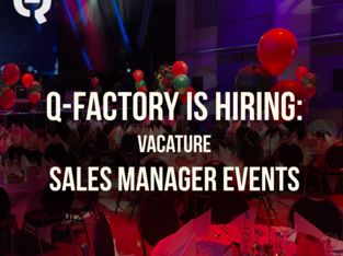 Vacature Sales Manager Events