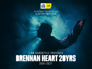 ADE 2021: I AM HARDSTYLE presents: Brennan Heart 20 years